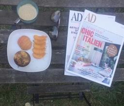 Muffins de l'été – Abricots, framboises et citron vert