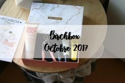 Birchbox d'Octobre